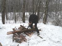 Рубка тех-же дров