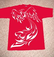 футболка красная 3