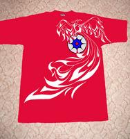 футболка красная 5